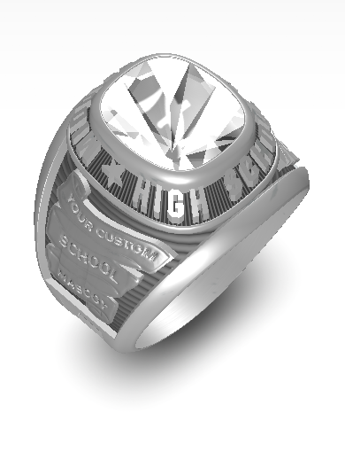 Zion's Century (Square) Ring