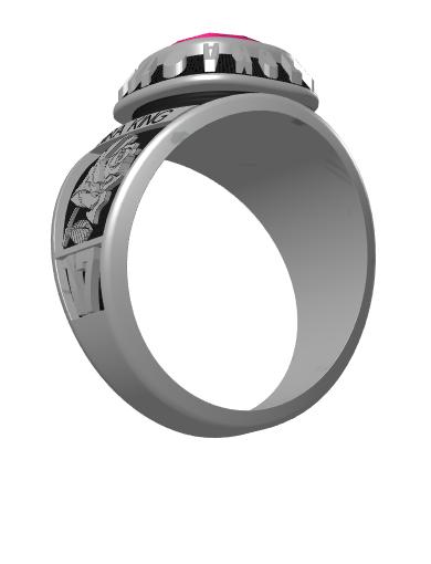 nira's Century (Square) Ring
