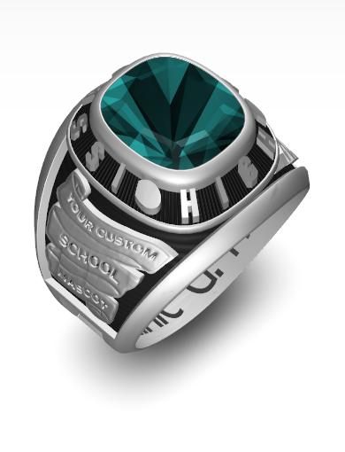 Dominic's Century (Square) Ring