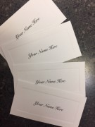 Other - Set of 10 Return Address Labels and Name Cards