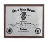 Plaques - Diploma Plaque