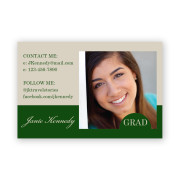 Personalized Photo Namecards