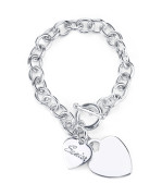 Senior Heart Bracelet