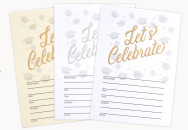 Traditional Party Invites