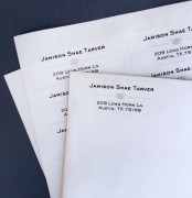 Return Address Labels (60 per pack)