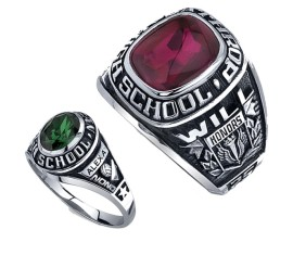 High School Ring-LO