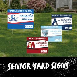 Yard Signs - Senior 2022 Yard Sign