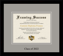 Deluxe Diploma Frame