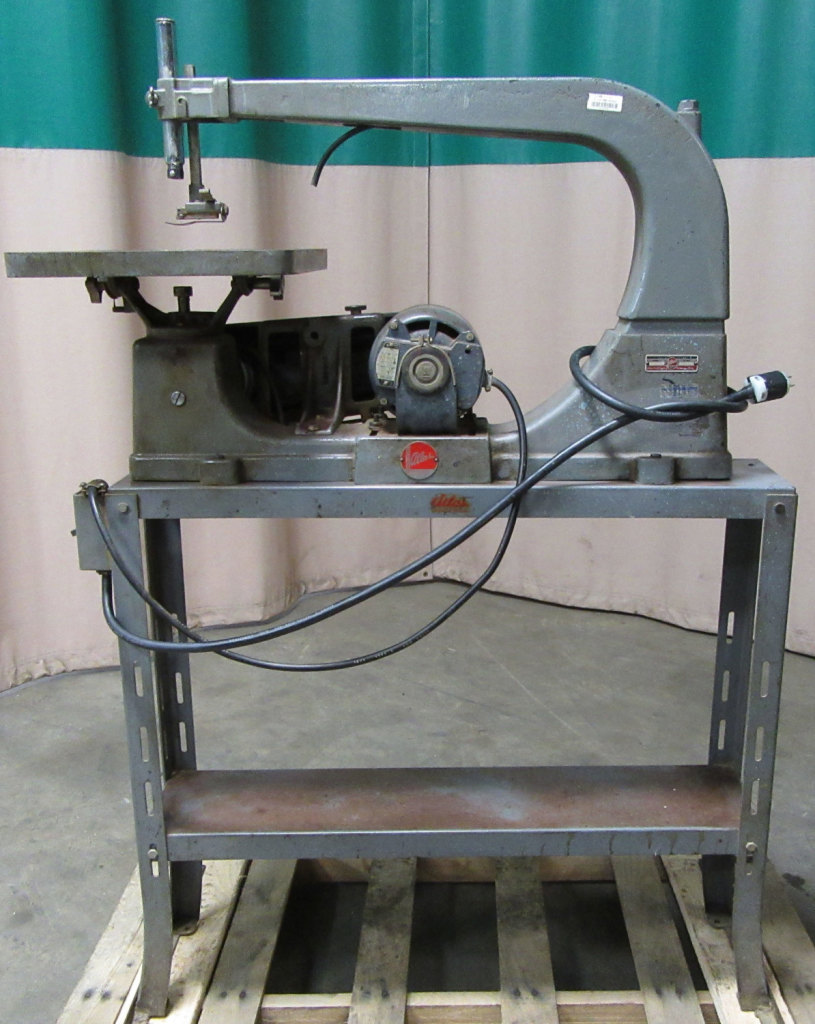 Used Atlas Model MN 4003 Scroll Saw