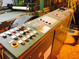 Used Wemhoner Platen Hydraulic Laminating Press Hermance