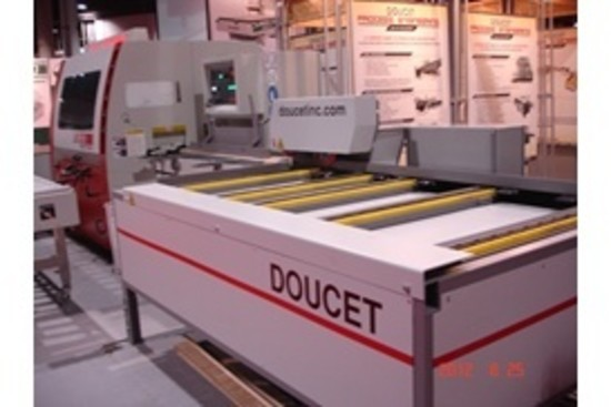 Doucet Mfe 150 Lateral Chain Feeder For Moulders Hermance