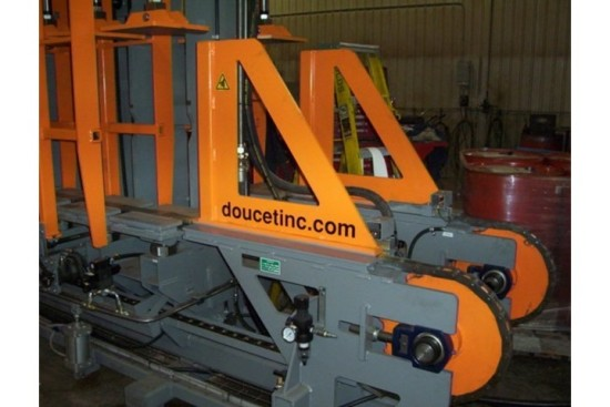 Doucet Laminated Beam Vertical Cold Press Hermance