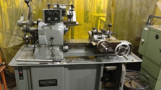 Used Hardinge HC Super Precision Chucking Lathe on