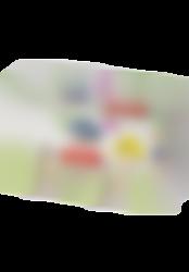 platano y manzana