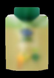 Solo web plátano, pera y naranja