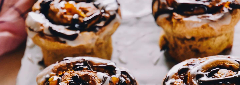 Kringel à l'abricot et au chocolat