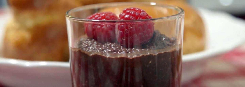 Pudding - chocolat et graines de chia