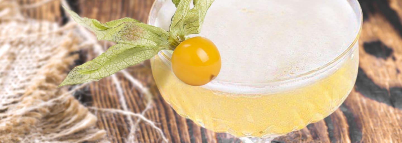 Cocktail Délice mit Quittenkonfitüre