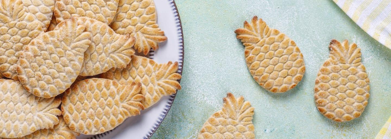 Biscotti senza glutine e confettura  Hero Ananas di stagione
