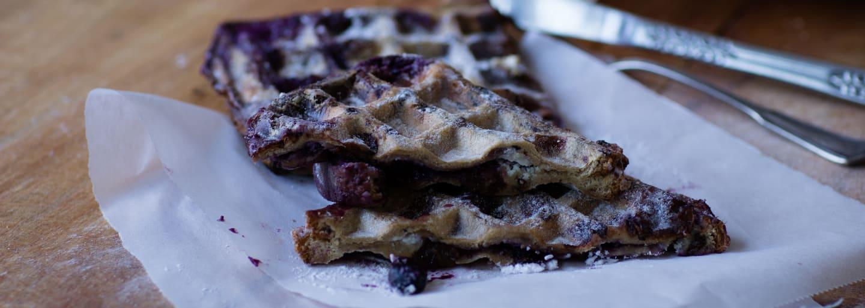 Header_French Cheesecake Toast met Bosbessenjam