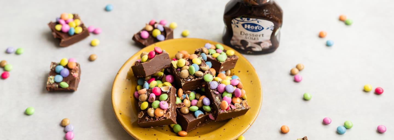 Hero Choco fudge