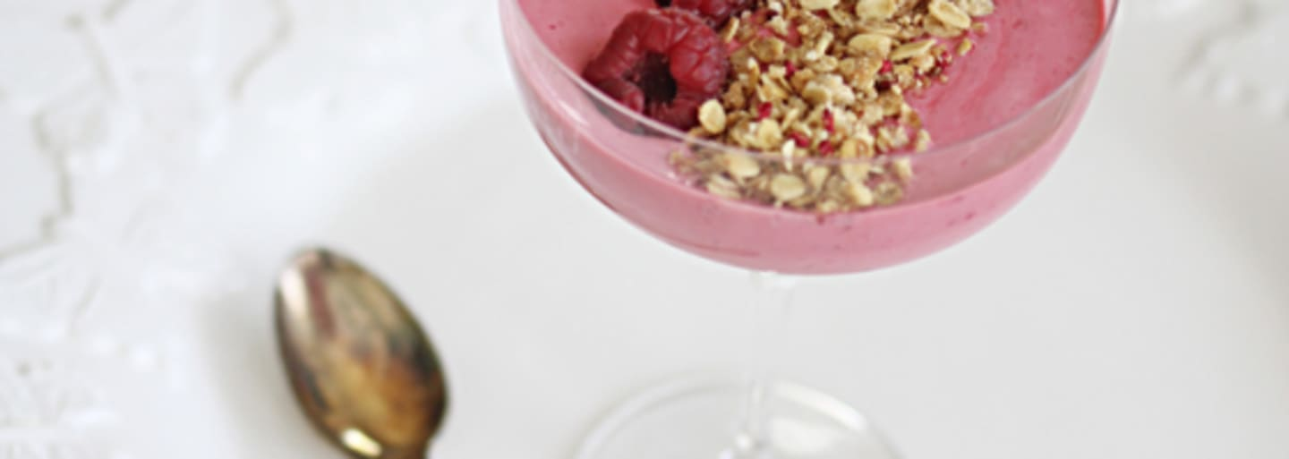 Glutenfri smoothie bowl