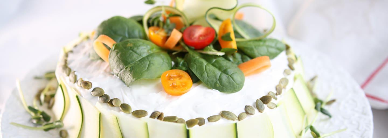 Glutenfri Vegetarisk Smörgåstårta