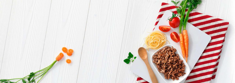 Recept - Pasta med köttfärssås 8M - Semper Barnmat