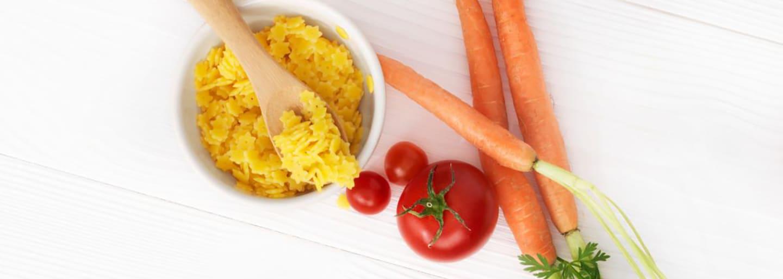 Recept - Pasta med tomat & mozarella 8M - Semper Barnmat