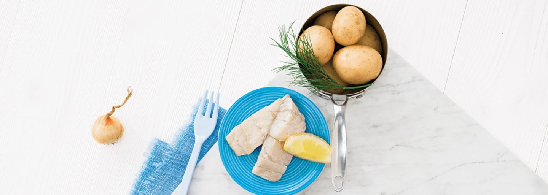 Recept - Potatis med torsk 8M - Semper Barnmat