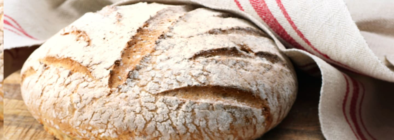 Glutenfritt ljust bröd med honung och pofiber