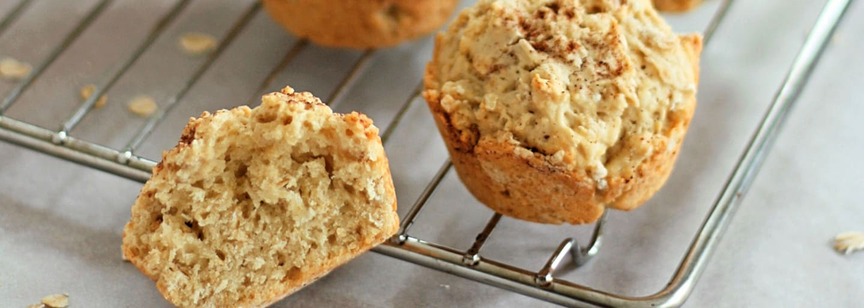 Glutenfria scones. bakade med glutenfri bakmix från Semper