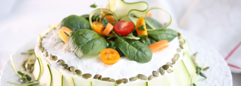 Gluteeniton vegaaninen voileipäkakku