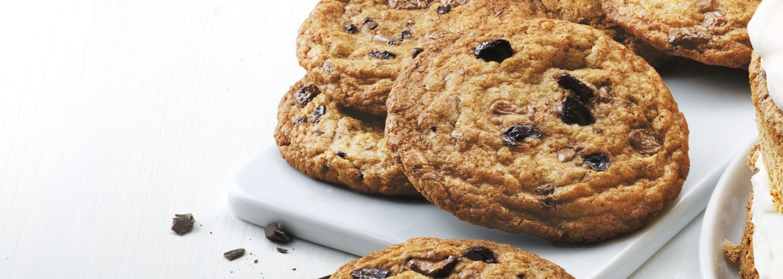 Glutenfri chocolate chip cookies