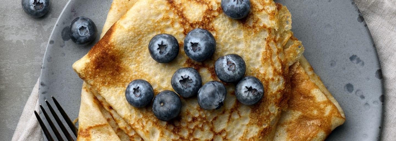 Glutenfrie pannekaker, tynne og sprø