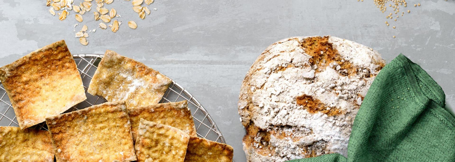 Baka glutenfritt bröd med Semper Mixer
