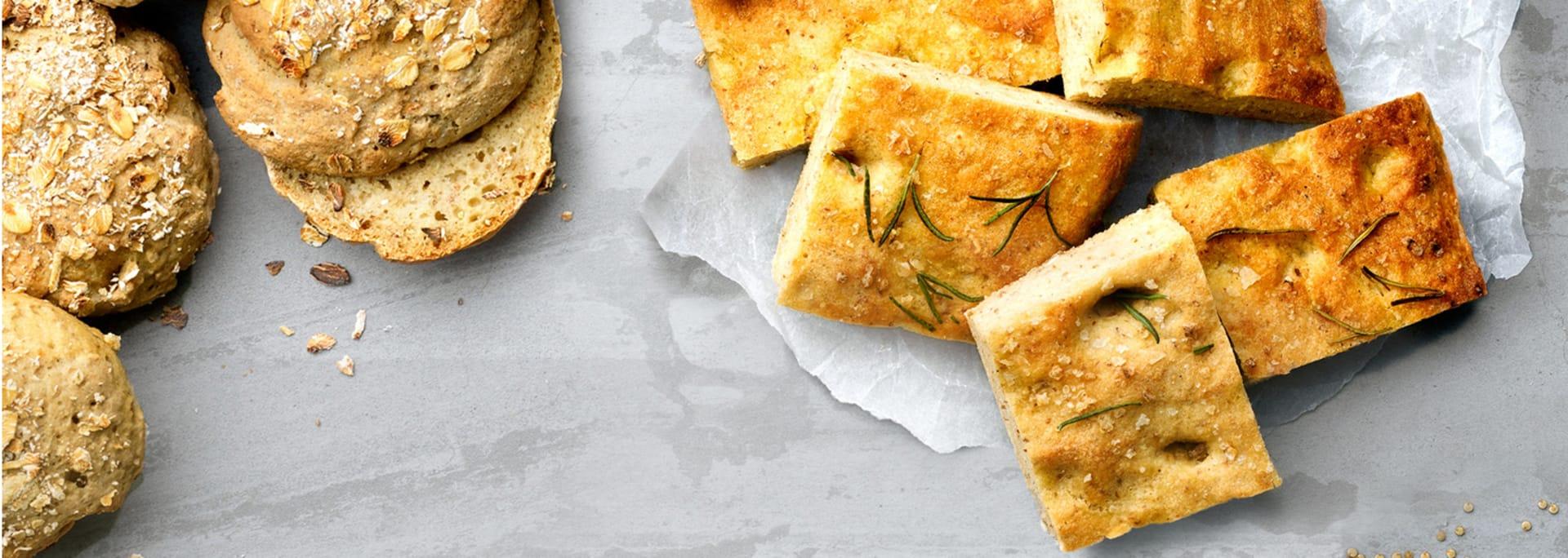 Glutenfri bakning med Semper Oat & Quinoa Bread Mix
