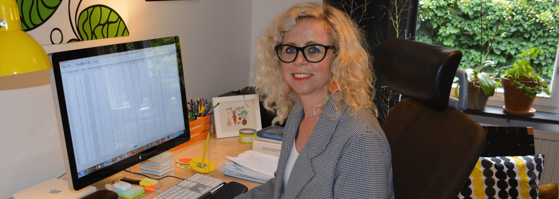 Ulrica Johansson, forskare i Otis-studien vid Umeå Universitet