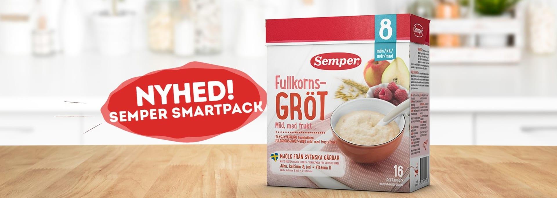 Sempers nye grød i SmartPack