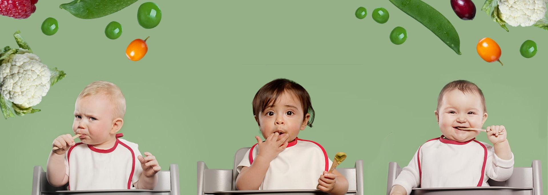 Semper Step er en metode og en app som får barnet ditt til å elske grønnsaker
