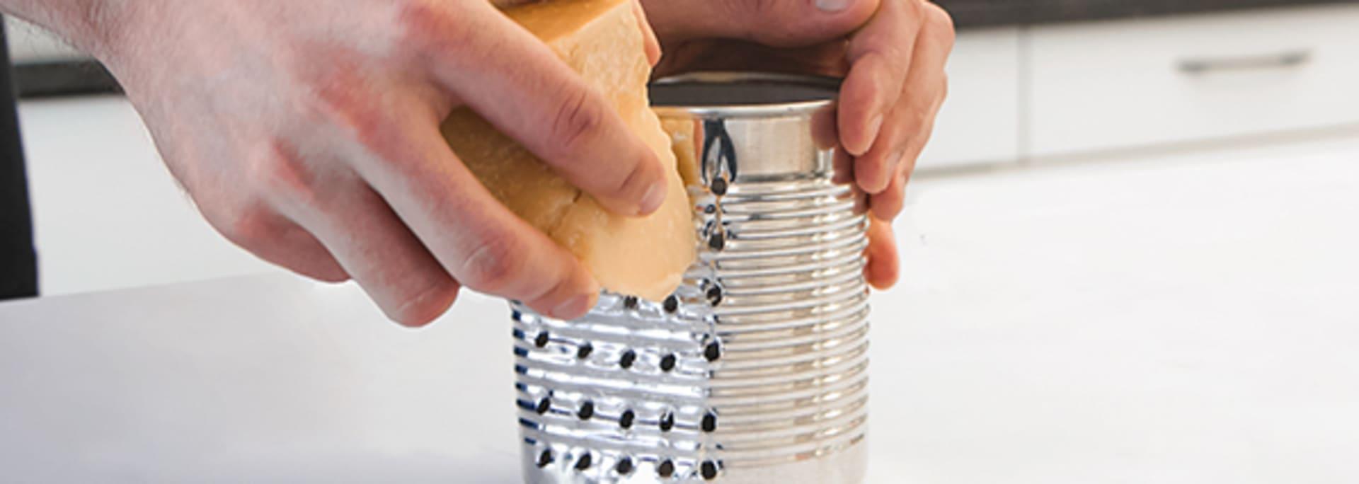 Idées sympas pour le surcyclage: La râpe à fromage
