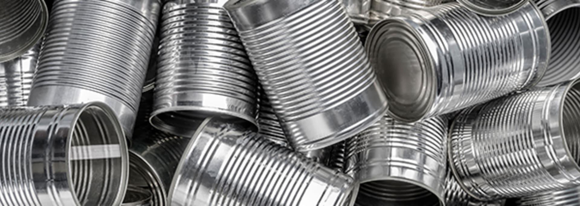 Comment recycler les boîtes de conserve vides