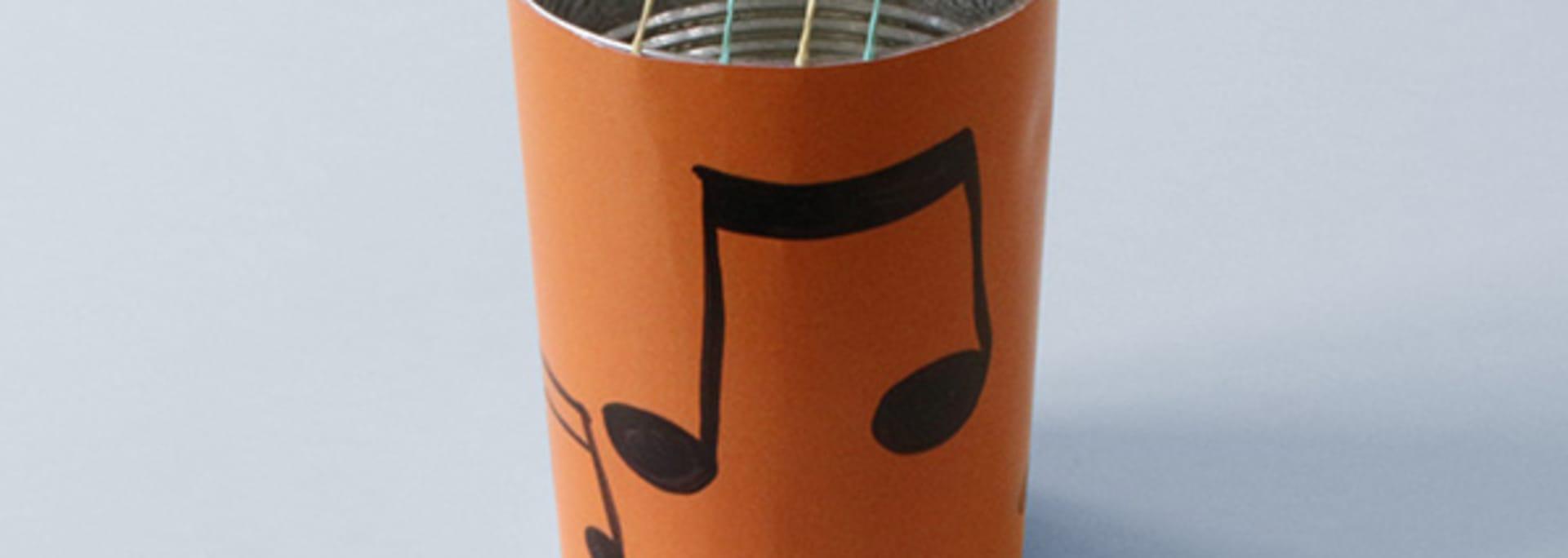 Büchsengitarre (Upcycling)
