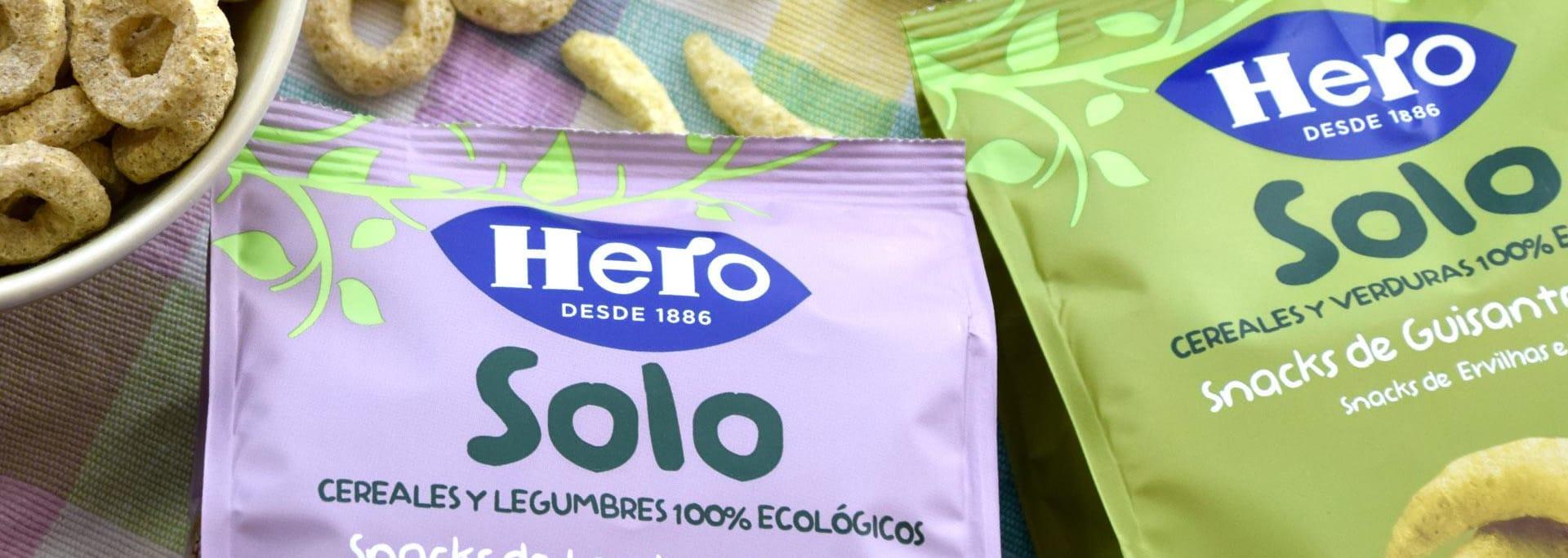 Nuevos Snacks Hero Solo