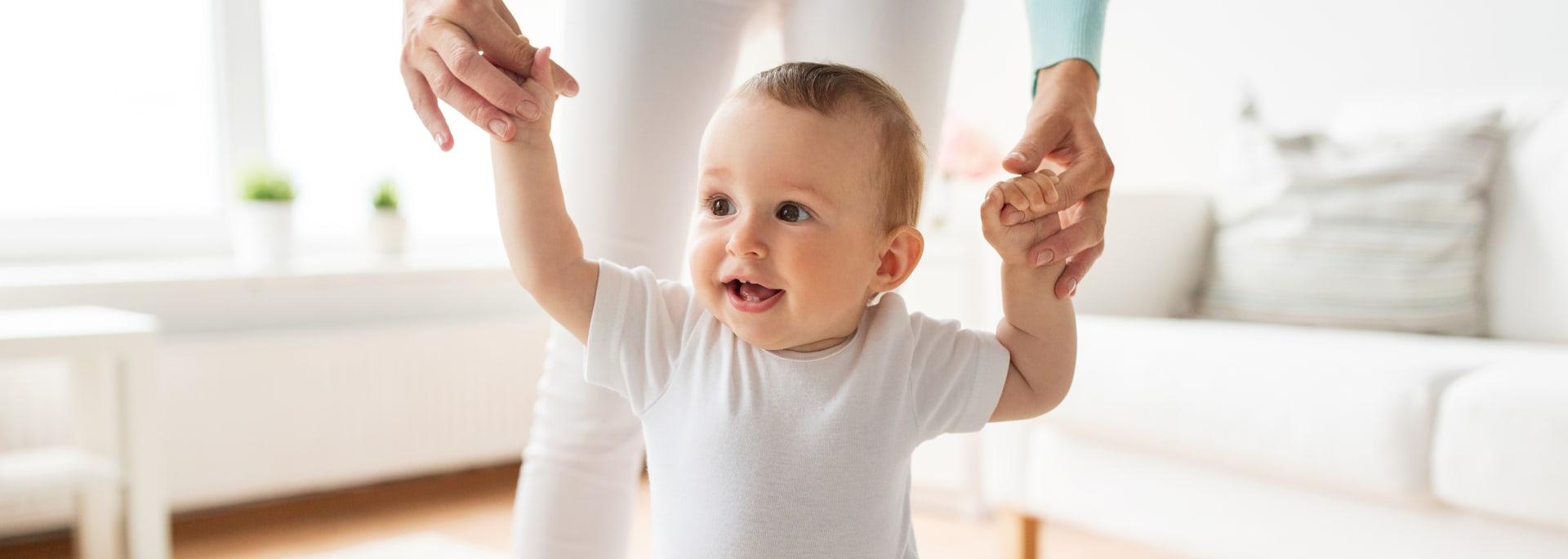 primeros pasos de tu bebé