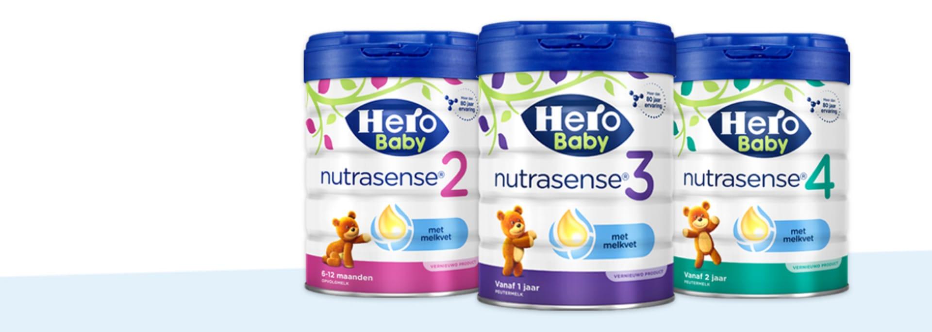 FAQ flesvoeding Nutrasense