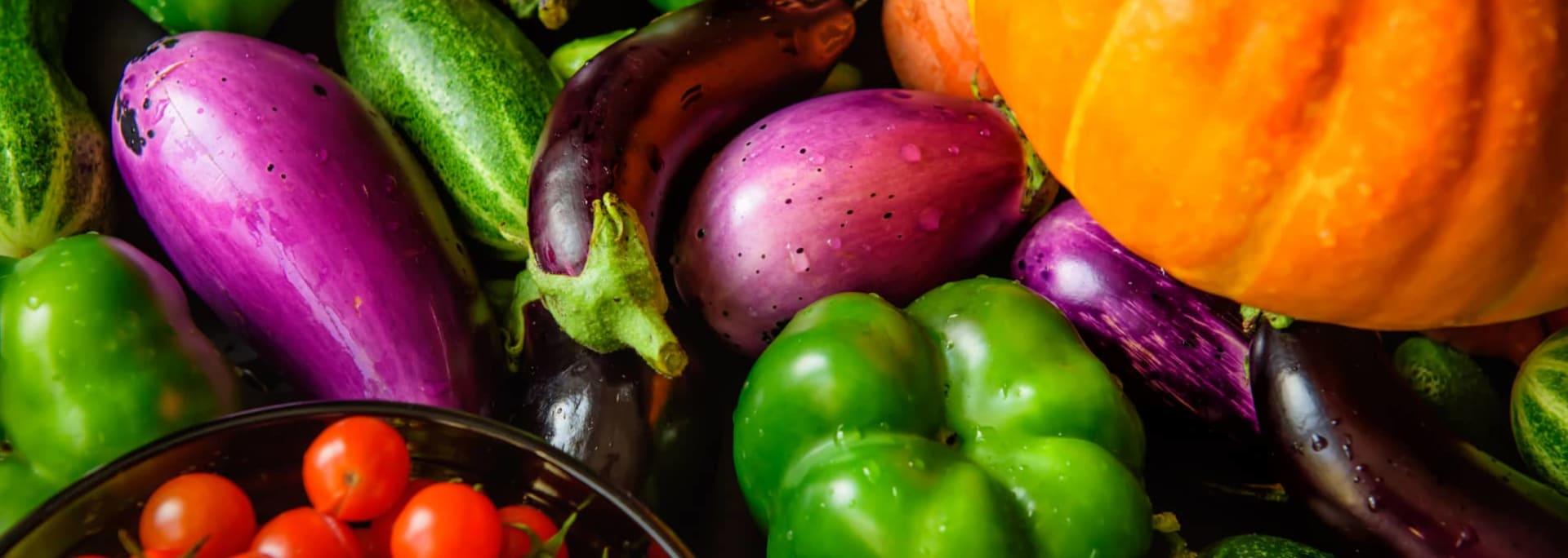 Verduras de temporada en septiembre y octubre