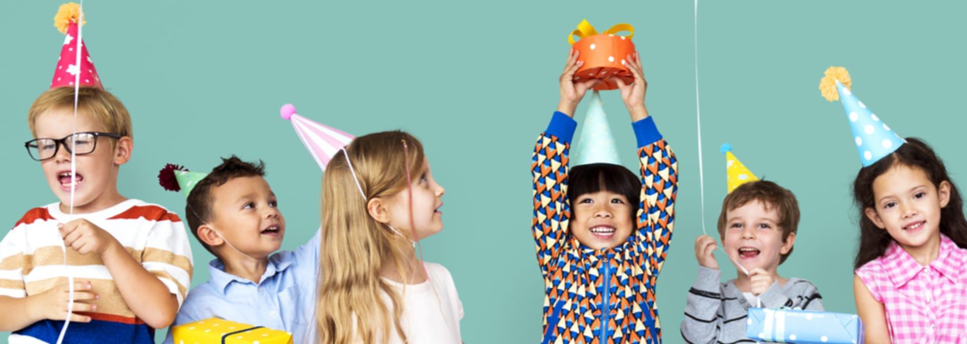 Aperitivos de cumpleaños saludables para niños