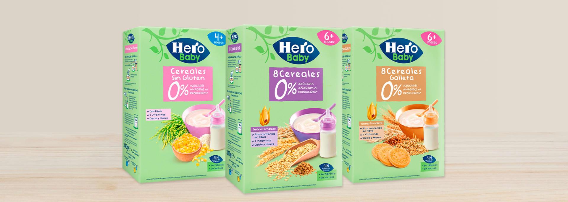 Bebidas de Cereales Hero