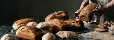 valikoima gluteenittomia leipiä